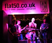 Flat50 Arts - Live Music Events, Exhibitions & Indie Label logo