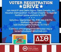 Stafford Cobras Voter Registration Drive