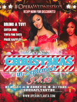 CHRISTMAS IN SEPTEMBER | 18+  | 9.4.13