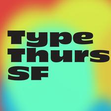 Type Thursday SF logo