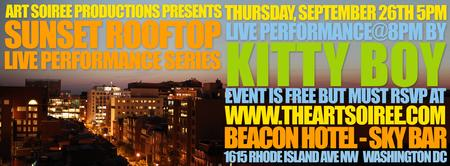 Sunset Rooftop Live Performance Series