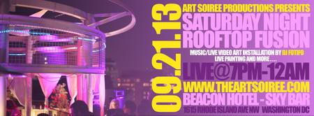 CANCELLED - Saturday Night Rooftop Fusion by Art...