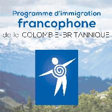 Programme d'immigration francophone de la C.-B. logo