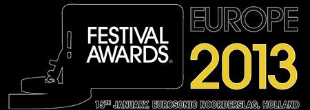 The European Festival Awards 2013