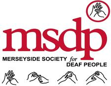 Merseyside Society for Deaf People logo