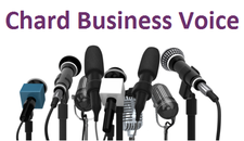 Chard Business Voice logo