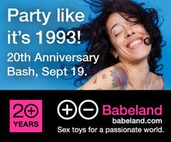 Babeland's 20th Anniversary Party