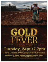 Gold Fever Screening + Panel Discussion