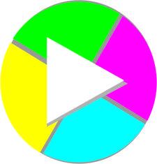 Giocare Produções - Direção: Rodrigo Scabbia e Camila Caliani logo