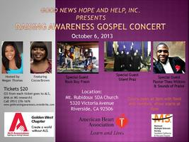 Good News Hope and Help Raising Awareness Gospel Concer...