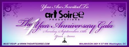 Art Soiree's Four Year Anniversary Gala