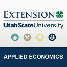 USU Extension - Applied Economics logo