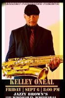 Kelley O'Neal Live at Jazzy Brown's