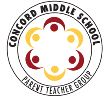 The Concord Middle School PTG logo