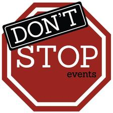 Don't Stop Events logo