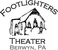 Footlighters Theater logo