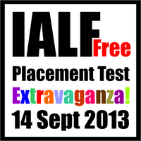 IALF Free Placement Test Extravaganza!
