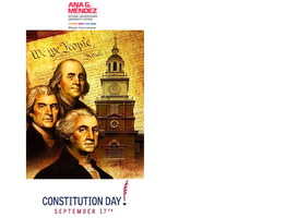 Annual Celebration of United States Constitution Day/...