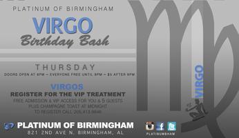 Virgo Birthday Bash