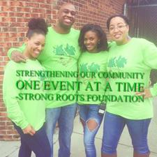 Strong Roots Foundation  logo