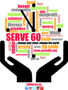 SERVE 60 logo