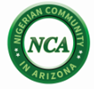 Nigerian Community in Arizona (NCA) logo