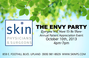 The Envy Party at Skin Physicians and Surgeons 2013