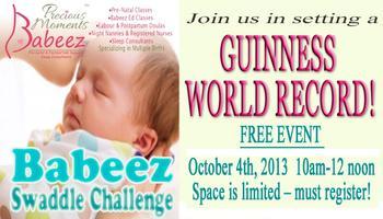 Oakville Babeez Swaddle Challenge