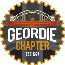 H.O.G. Geordie Chapter logo