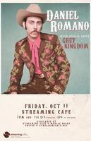 Daniel Romano w/ Grey Kingdom at Streaming Cafe