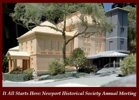 Newport Historical Society Annual Meeting