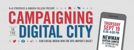 Campaigning in the Digital City