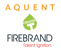 Aquent, Firebrand Talent and Vitamin T logo