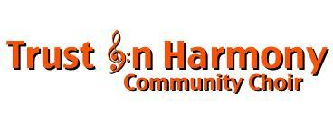 FREE Trust in Harmony Choir Taster session
