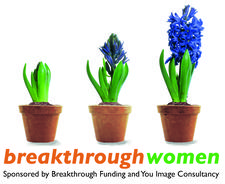 Breakthrough Women, sponsored by Breakthrough Funding and You Image Consultancy logo