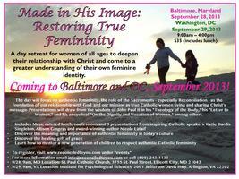 Made in His Image: Restoring True Femininity /...