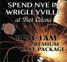 Bar Celona Wrigleyville New Year's Eve