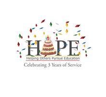 Happy Anniversary HOPE: Celebrating 3 Years of Helping...