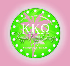 Kappa Kappa Omega Chapter of Alpha Kappa Alpha Sorority, Inc.  logo