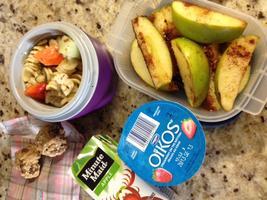 Healthy Lunch; Happier Bunch!