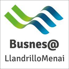 Busnes@LlandrilloMenai logo