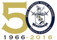 Dos Pueblos High School's 50th Anniversary Celebration and Gala Ticket Site. logo