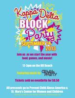 Kappa Delta Block Party