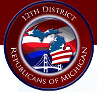 Wayne-12 Congressional District Republican Committee logo