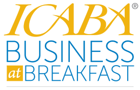 ICABA Business at Breakfast September 27, 2013...