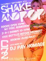 "Saturday September 14th: ""Shake & Pop"" at C72..."