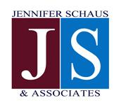 Jennifer Schaus & Associates + 1 - 2 0 2 - 3 6 5 - 0 5 9 8  logo