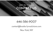 Brooke-Lynn Solutions  logo