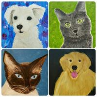 KIDS' Paint Your Pet Fundraiser (adults may sign up...