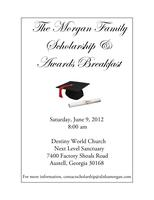 Morgan Family Scholarship Breakfast